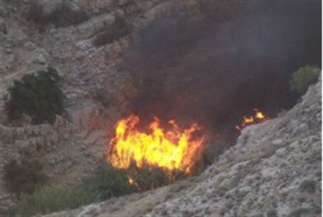 Fire at Mitzpe Danny