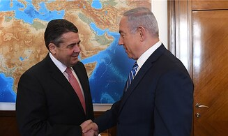 Netanyahu corrects German FM on 'two-state' support