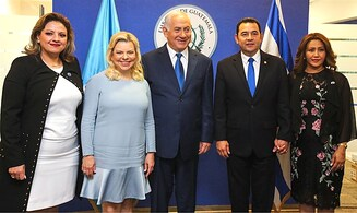 Guatemala: Israel is a 'light unto the nations'