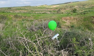 Incendiary balloons continue to land in Israel