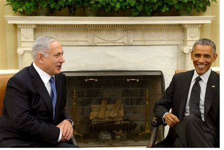 Netanyahu with Obama