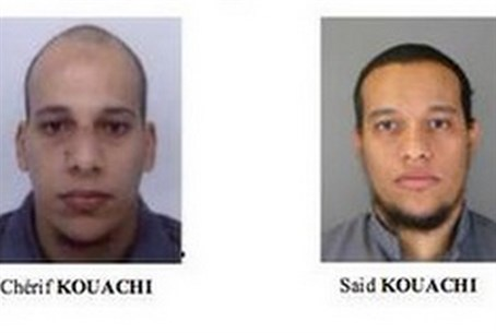 Prime suspects: Cheir and Said Kouachi