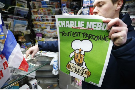 Charlie Hebdo's latest Mohammed cover