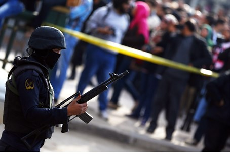 Egyptian police special forces (file)