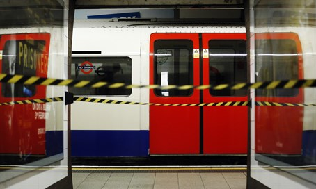 London underground (illustration)
