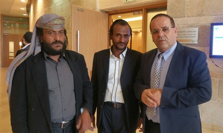 Ayoub Kara meets with recent Jewish olim from Yemen