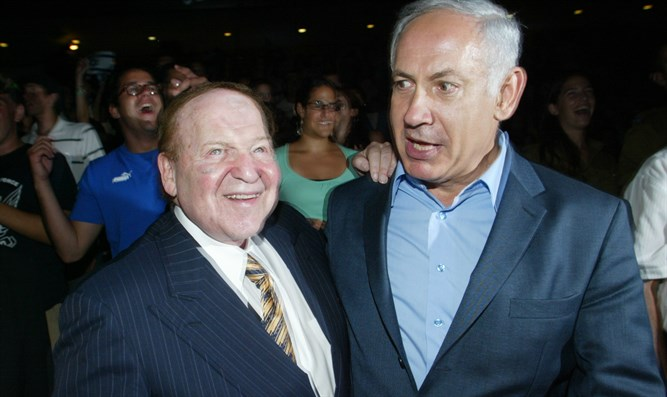 Adelson and Netanyahu