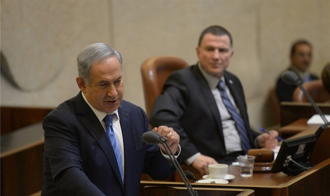 Netanyahu in Knesset (archive)