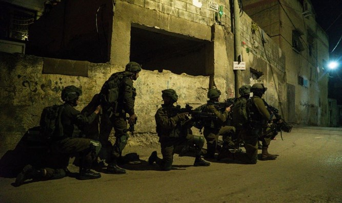 IDF forces last night
