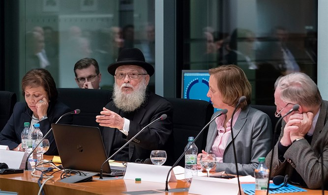 AfD Anti-Semitism panel in the Bundestag with Rabbi Dr. Chaim Rozwaski and Alexa