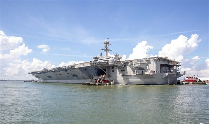 U.S. Navy aircraft carrier USS Abraham Lincoln