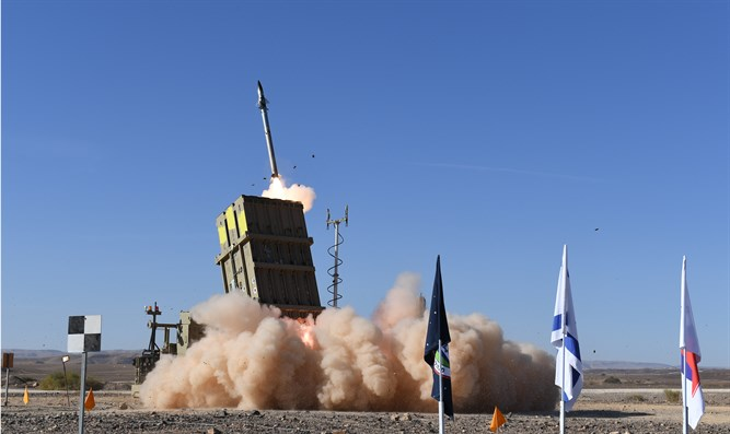Missile test for Israel's Iron Dome system