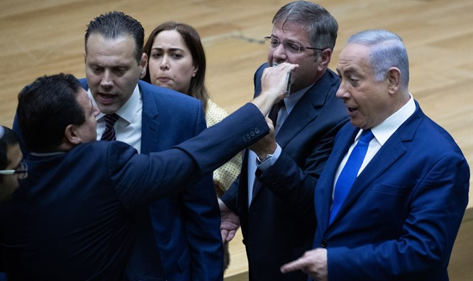 A typical debate in the Knesset