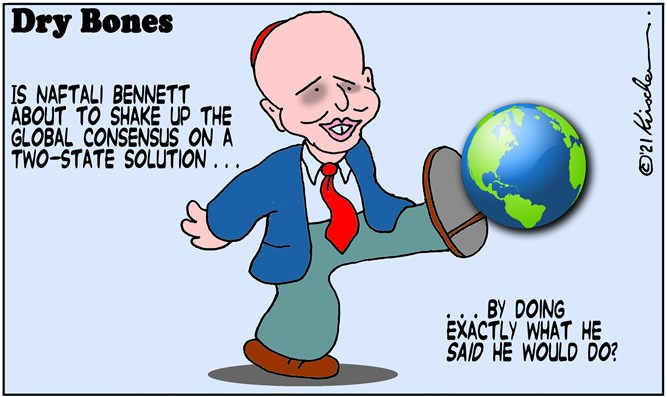 Is Bennett set to shake-up global consensus on a two-state solution?