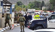 3 terrorists killed in attack on Israeli base in Samaria
