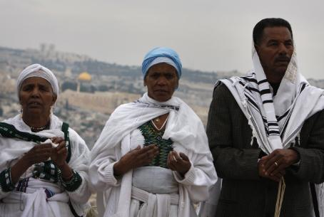 Ethiopian Jews in Jerusalem (file)