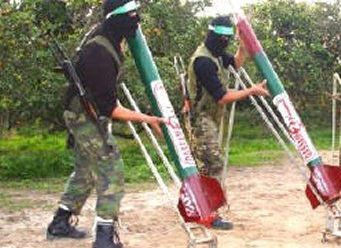 Coming to Ramallah? Hamas rocket launchers