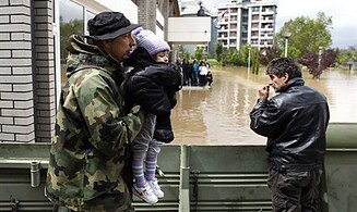 No Jews Among Reported Balkans Flood Deaths