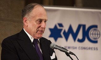 WJC's Lauder to address Holocaust survivors, dignitaries