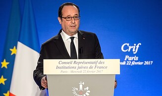 Hollande: France insists on 'two-state solution'
