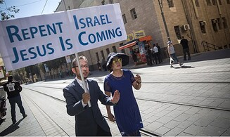 Missionaries use Independence Day to proselytize Israeli Jews