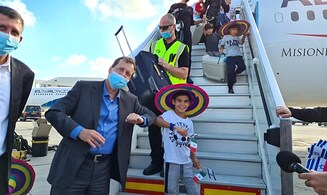 Operation Home: 1st charter flight from Mexico brings 230 olim home