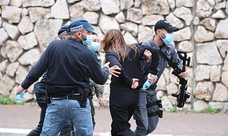 Arabs riot in Nazareth ahead of Netanyahu visit