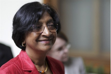 Navi Pillay, UN High Commissioner for Human R