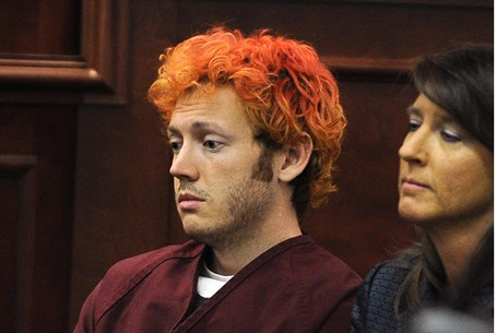 Colorado shooter James Holmes in court (archive)