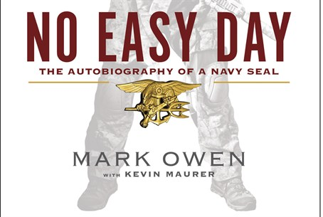 "cover of ""No Easy Day"""