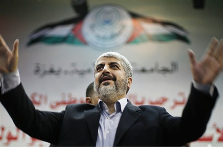 Mashaal during his visit to the Islamic Unive