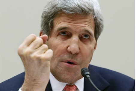 Kerry testifies before the House Foreign Affa