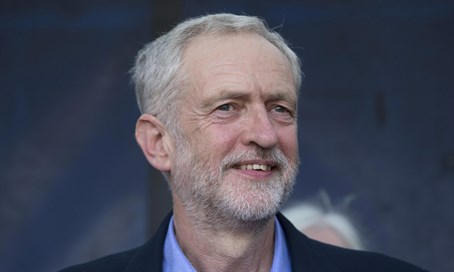 UK Labor Party leader Jeremy Corbyn