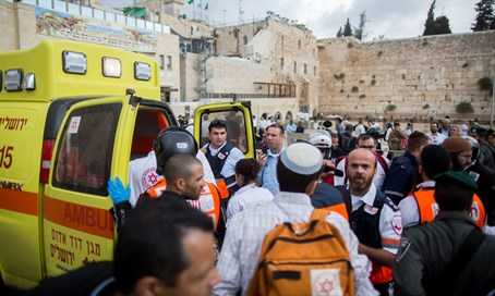 Lion's Gate stabber and victim evacuated at Kotel Plaza