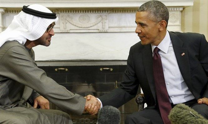 UAE Crown Prince Mohammed bin Zayed al-Nahayan, Barack Obama