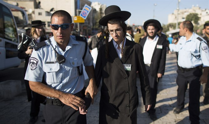 Israel Police and haredim