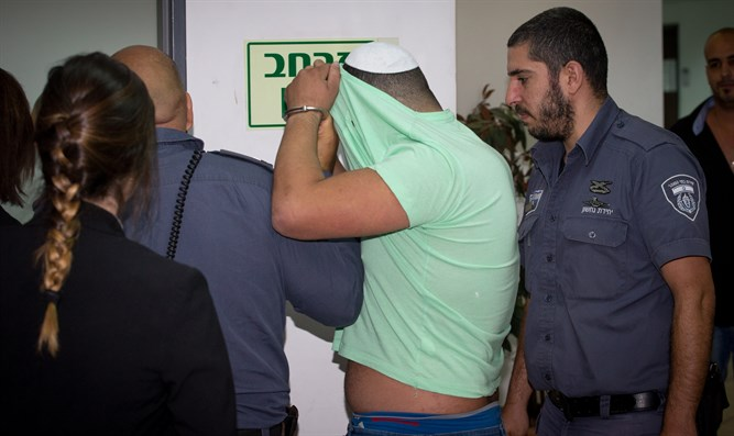 The driver suspected of running over a child in Jerusalem