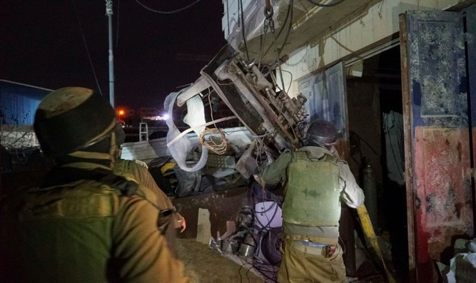 Operation last night in Hevron