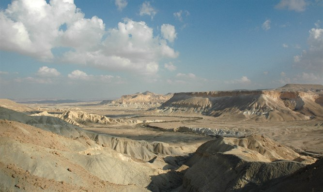 A view of the Negev