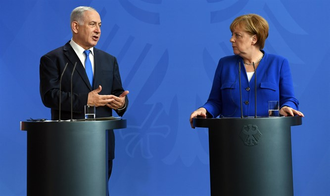 Netanyahu and Merkel
