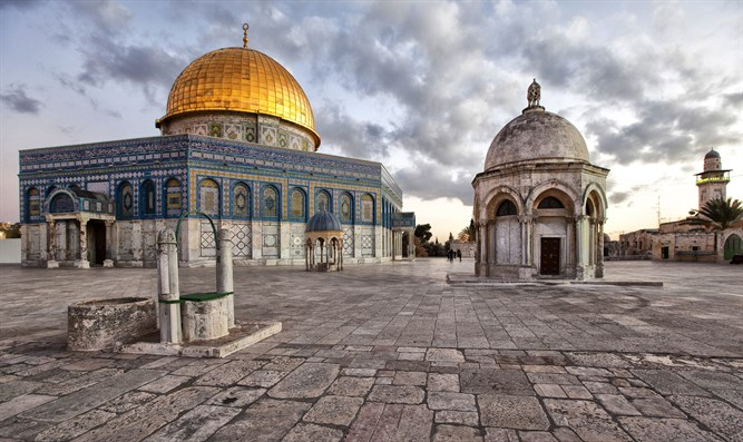 Mosques built atop Temple Mount