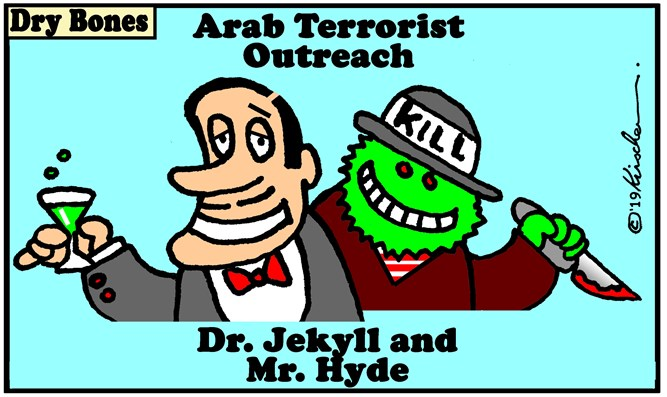 Dry Bones 13.2.19 Arab Terrorist outreach