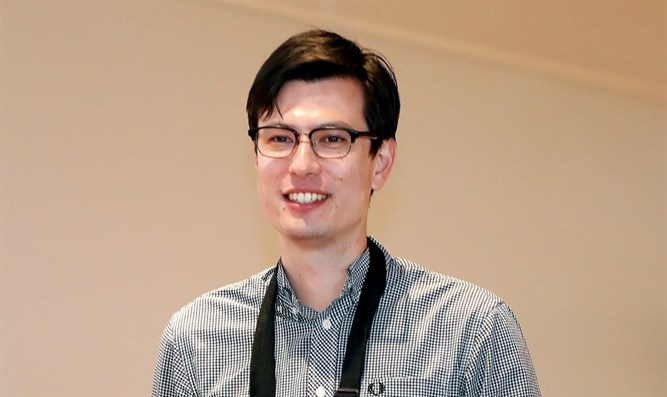 Australian student Alek Sigley, 29, who was detained in North Korea, arrives at