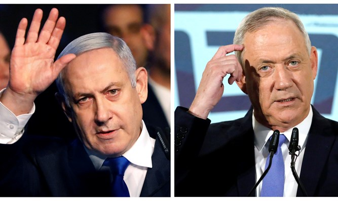 Netanyahu and Gantz