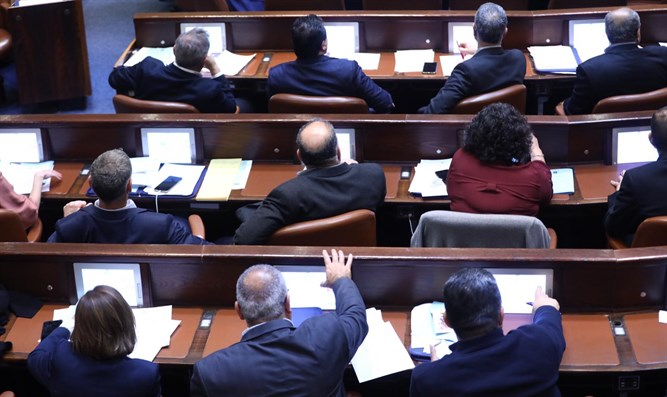 MKs approve bill to dissolve the 22nd Knesset