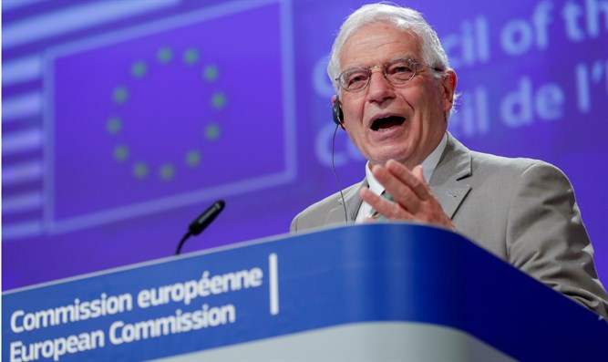 EU foreign affairs chief Josep Borrell