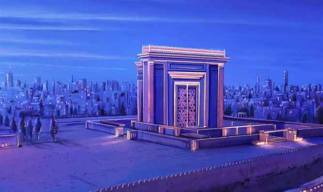 Model of Third Temple