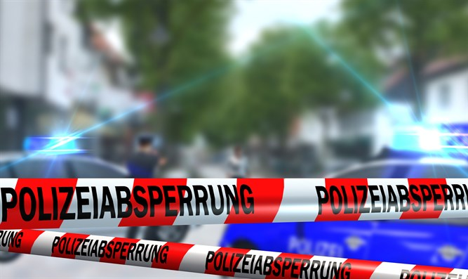Police block off area in Germany (illustrative)
