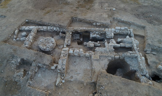 The Israel Antiquities Authority's excavation at Rahat